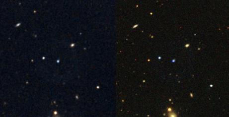 SDSS and DSS Pre 8